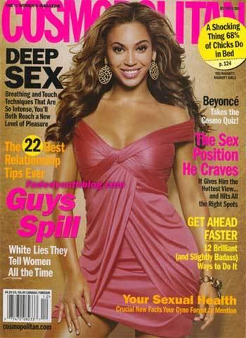 Beyoncé en Cosmopolitan