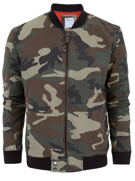 chaquetas estilo bomber primavera 2013