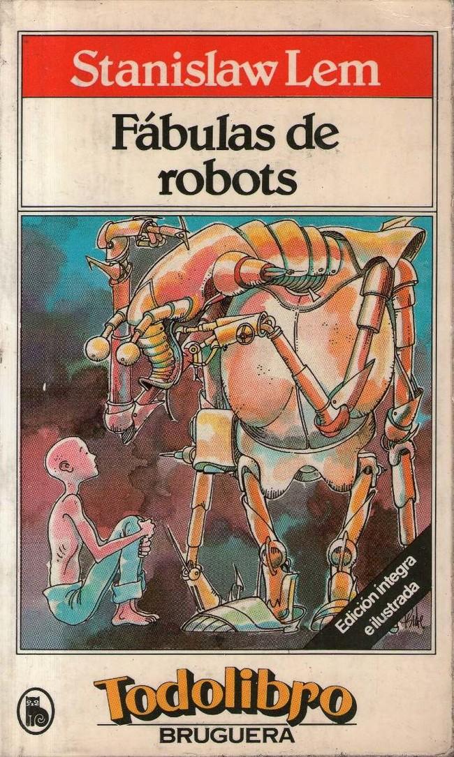 Portada Fabulas De Robots