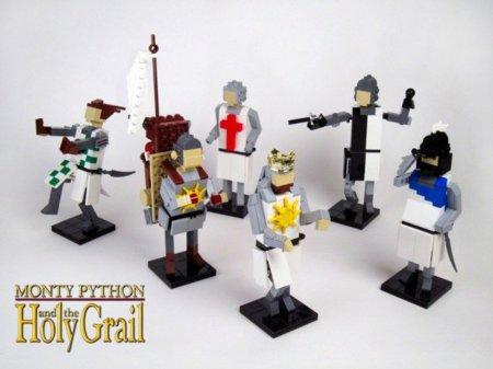 Lego y Los Caballeros de la mesa cuadrada