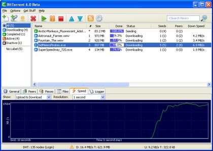 Presentado BitTorrent 6.0