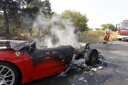 Ferrari 360 de Éver Banega