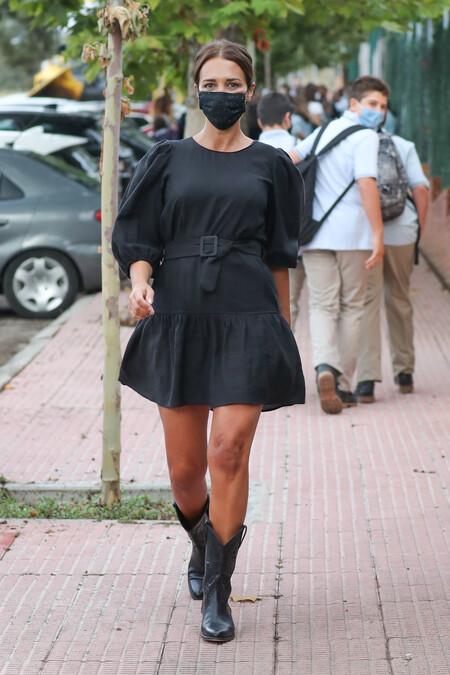paula echevarria vestido negro