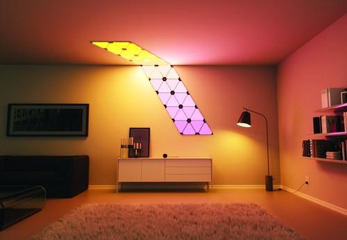 Nanoleaf Aurora, un kit de paneles LED para ser de lo más creativo iluminando tu hogar