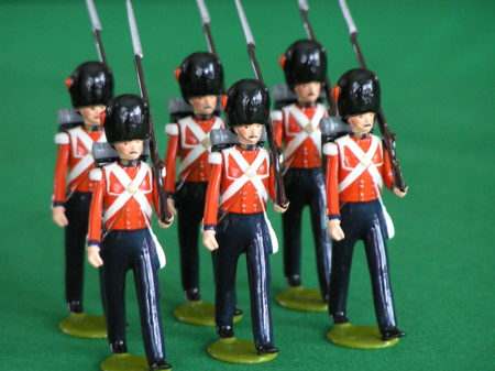 Toy Soldiers British Coldstream Guards