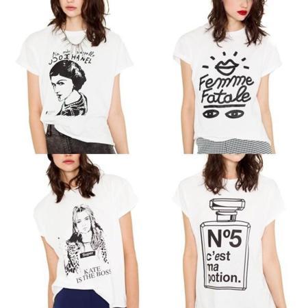 Camisetas Chanel