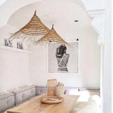 Haz tu casa sostenible (e instagrameable) con estos nueve muebles y accesorios fabricados con bambú, mimbre, ratán, yute o esparto