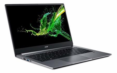 Portátil Acer Swift 3, con el nuevo Intel Core i7-1065G7 y SSD de 512GB, a su precio mínimo en Amazon: 749,99 euros