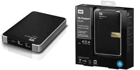 Western Digital My Passport Studio con puertos FireWire 800 y hasta 2 TB
