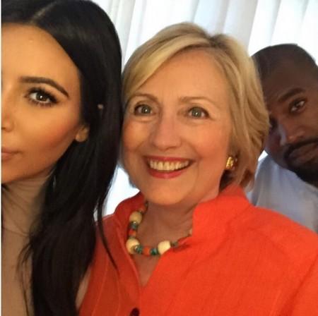 Selfie Kanye Kim