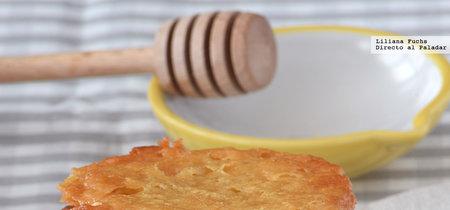 Galletas finas de miel crujientísimas. Receta fácil y rápida