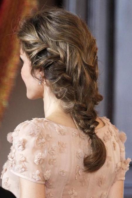Los 7 Recogidos De Trenzas Mas Romanticos Para Celebrar San Valentin - Peinados-romanticos-con-trenzas