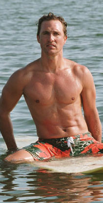 Matthew  McConaughey en 'Surfer, Dude'