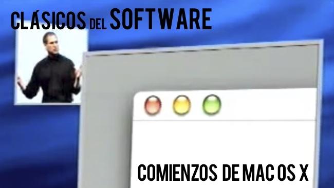clásicos del software apple mac os x steve jobs
