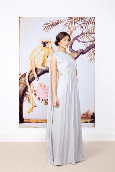Foto de Vestidos largos de fiesta para bodas de tarde: luce como una celebritie (5/10)