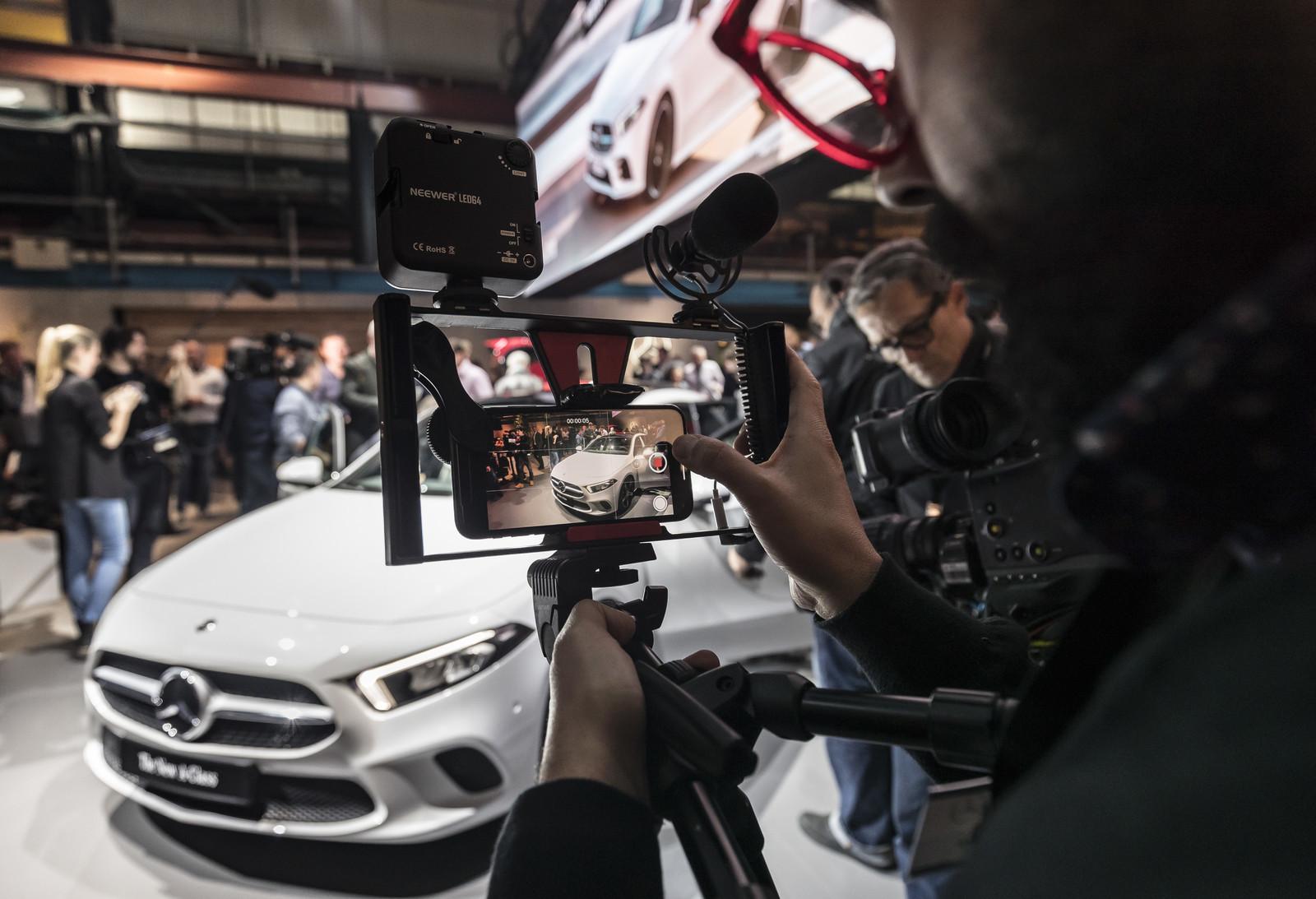 Foto de Mercedes-Benz Clase A 2018 - presentación (38/114)