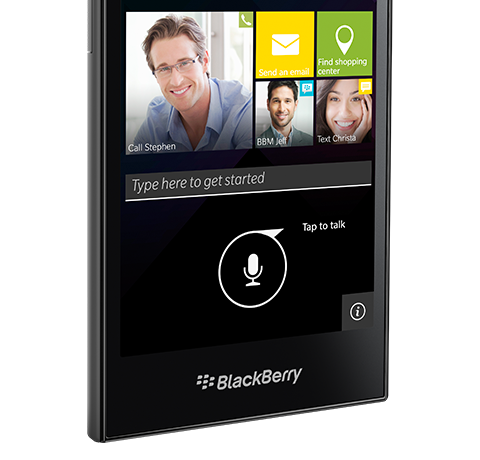 Foto de BlackBerry Leap (1/8)