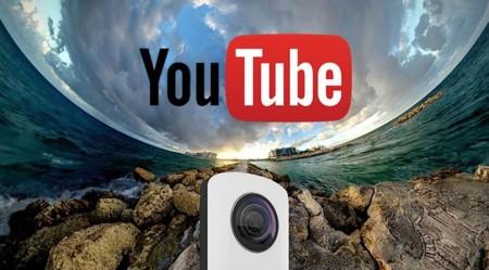 YouTube permitirá la transmisión de vídeos en vivo en 360 grados