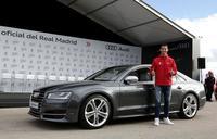 Audi entrega autos nuevos a jugadores del Real Madrid