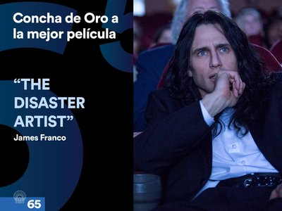 San Sebastián 2017 | James Franco gana la Concha de Oro por 'The Disaster Artist'