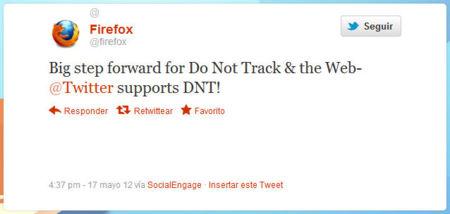 Firefox Twitter Do Not Track