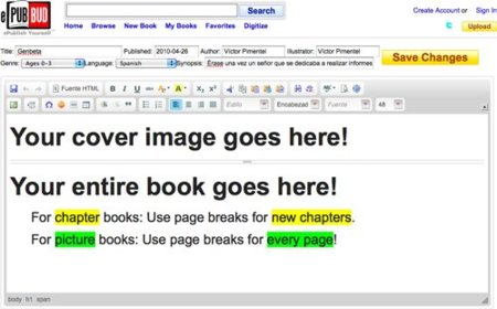 ePub Bud, el primo lejano de Google Docs
