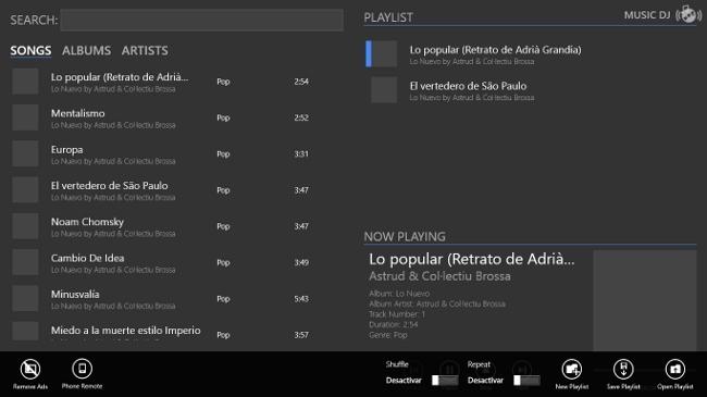 MusicDj, contrólalo desde tu Windows Phone