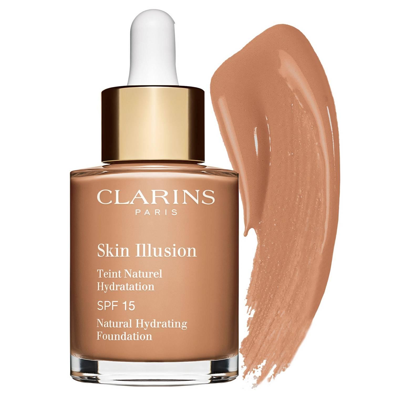 CLARINS Skin Illusion SPF 15 Base de maquillaje natural e hidratante