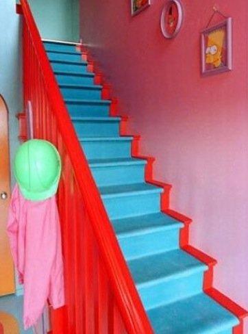 Casas poco convencionales la casa de los simpson es real for Ver escaleras de casas