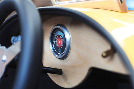 El Morgan EV3 Junior es el Morgan más barato... pero es de juguete
