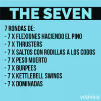 7. The seven