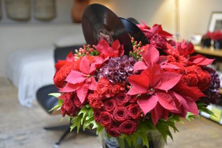Poinsettias Y Otras Flores