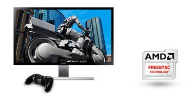 Samsung incluirá la tecnología AMD FreeSync en todos sus monitores UHD de 2015