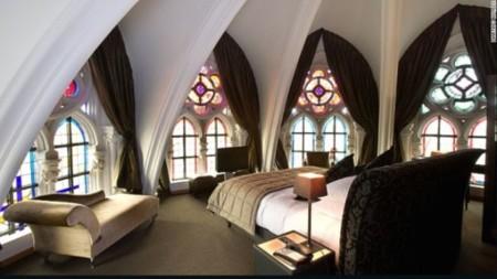 Duerme en este hotel que antes fue una iglesia belga