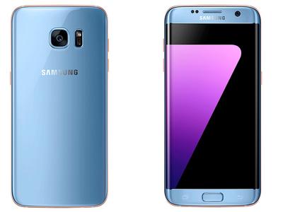 El Galaxy S7 Edge en color Blue Coral llegará a México en diciembre