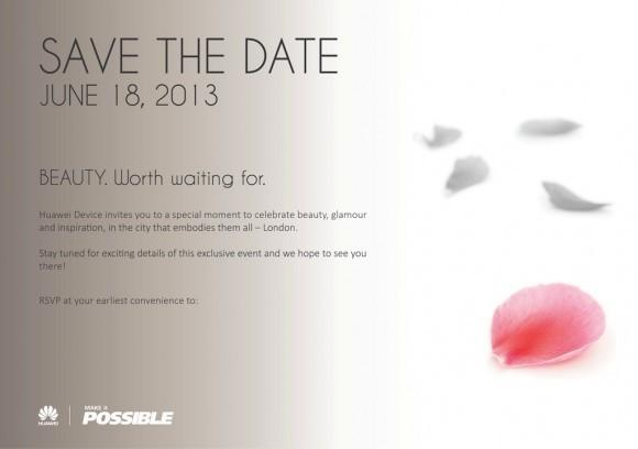 Huawei Save the Date