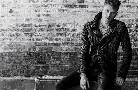 Machine Gun Kelly En La Campana De John Varvatos Seguro Te Inspira A Vestirte Como Una Estrella De Rock 1
