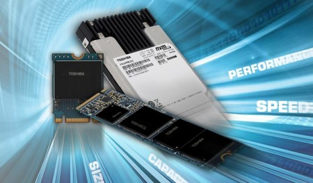Toshiba establece tres familias de SSDs con interfaz NVMe para alto rendimiento