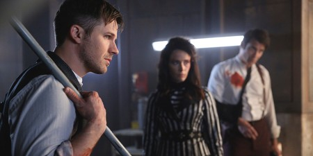 Matt Lanter Abigail Spencer And Goran Visnjic In Timeless