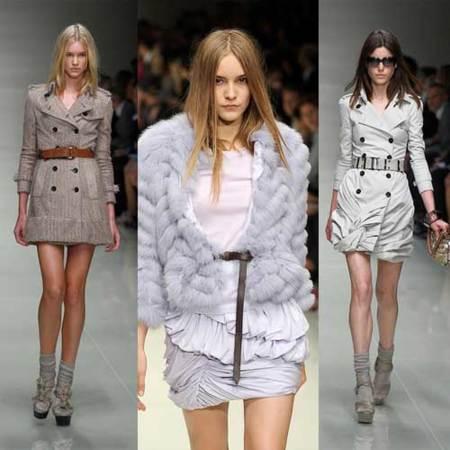 Burberry Prorsum Primavera-Verano 2010 en la Semana de la Moda de Londres