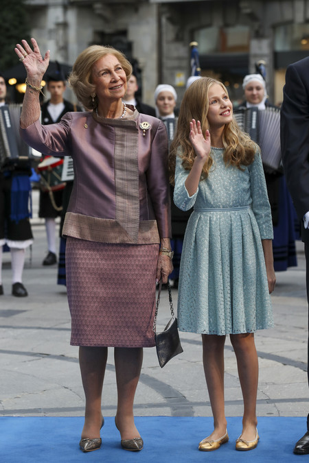 Leonor Y La Reina Sofia