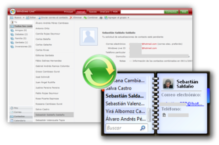 Truco: Sincroniza los contactos de Vista y de Windows Live mediante Messenger