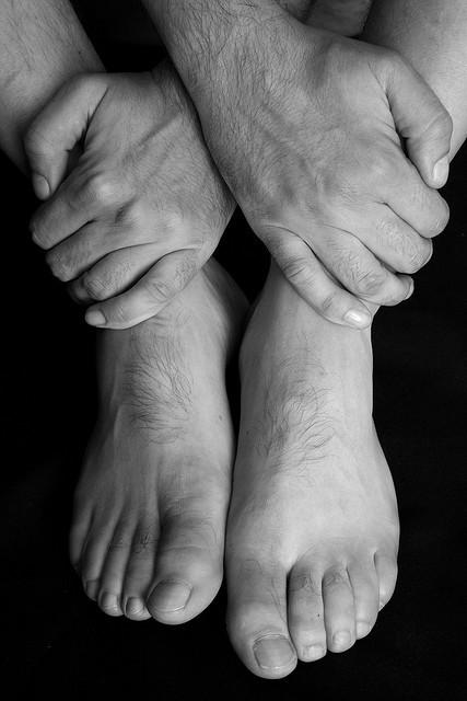 cuidado pies hombre