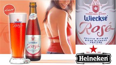 Cerveza rosa Wieckse Rosé, Heineken quiere fomentar el consumo de cerveza entre las mujeres