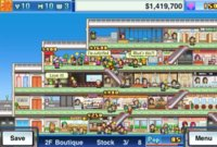 Mega Mall Story, otra joya de Kairosoft, los reyes de la estrategia de simulación en iOS