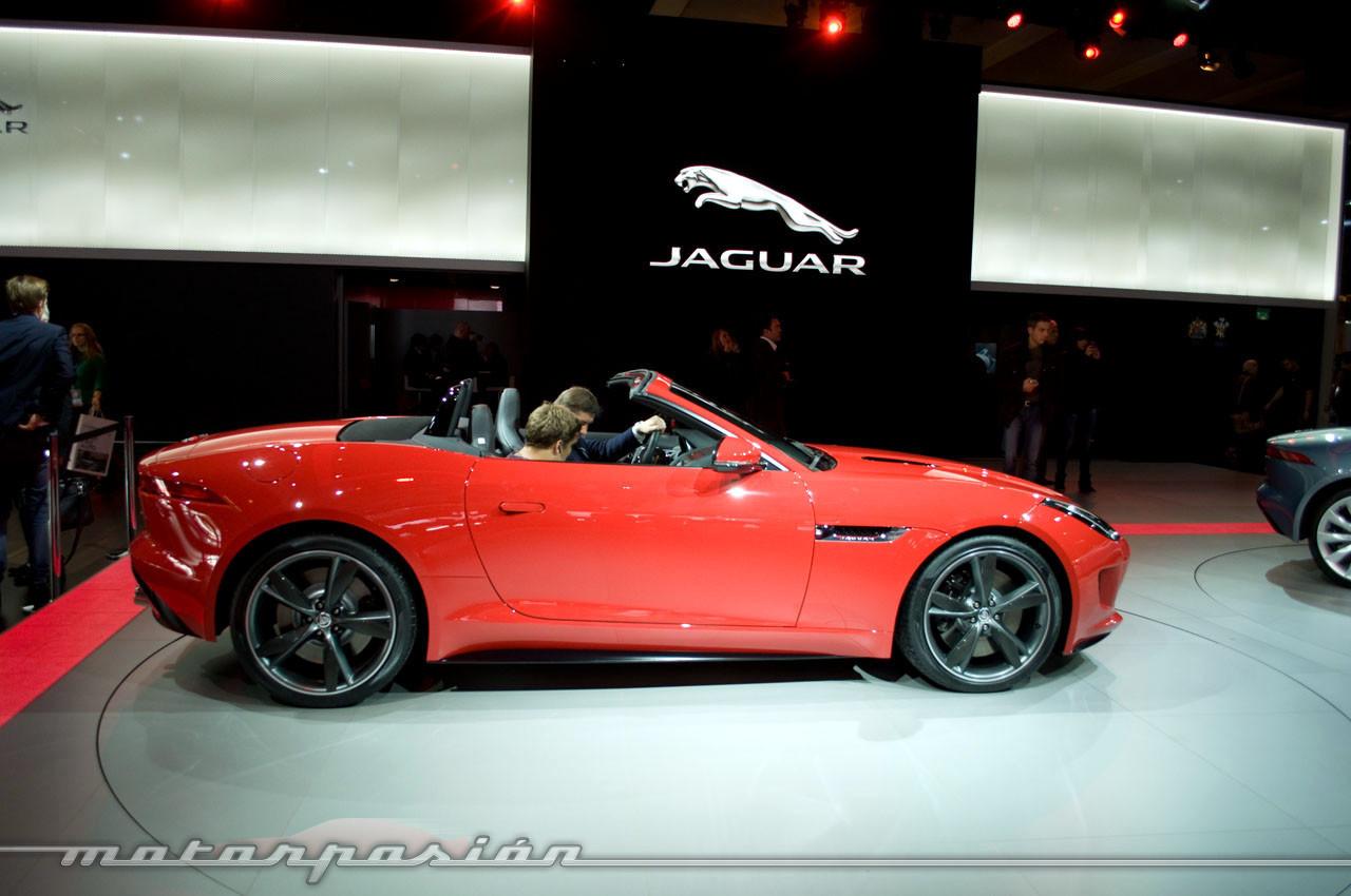 Foto de Jaguar F-Type en el Salón de París (1/10)