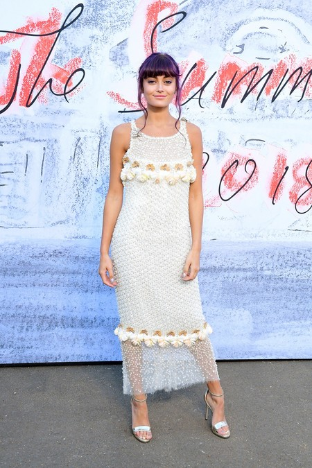 Alfombra Rojat Serpentine Summer Party Ella Purnell Chanel
