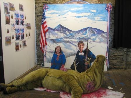 Hazte una foto con Sarah Palin en Brooklyn