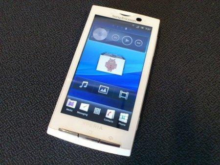 Gingerbread en Sony Ericsson Xperia X10 a principios de agosto