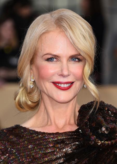 El maravilloso recogido de Nicole Kidman en los SAG 2018